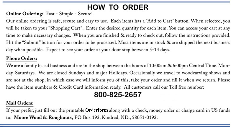 How To Order Part 1