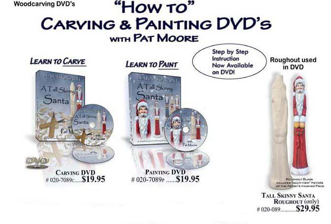 Moore wood roughouts dvds